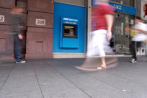 ANZ Bank ATM. Photo / Michael Craig