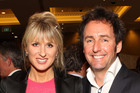 Kate Hawkesby and Mike Hosking. Photo / Supplied