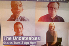 Poster for the British television programme 'The Undateables'. Photo / Supplied