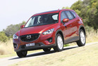 The CX-5 SUV, on sale in New Zealand next month, are not part of Mazda's cull. Photo / Supplied