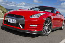 Nissan's GT-R roars into supercar action. Photo / Supplied
