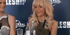 Watch: Rihanna: 'I'm happy and I'm single.'