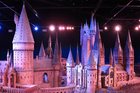 The two-storey, 1:24 scale model of Hogwarts Castle takes up a whole room. Photo / Amy Laughinghouse