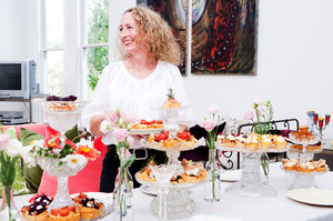 Kim Evans of Little and Friday has just released an eagerly anticipated cookbook of the sweet and savoury treats she makes for the cafe. Photo / Babiche Martens