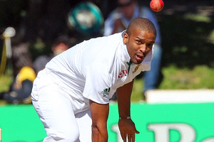 Vernon Philander claimed 6-81 yesterday.  Photo / Getty Images