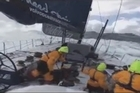 Extraordinary footage of Volvo Ocean Race entrant Telefonica battling 10 metre waves in the middle of the Southern Ocean.