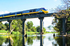 The Sunlander train travelling through Queensland. Photo / Supplied
