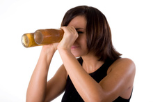 Beer goggles are more likely to fool women than men, according to a new study. Photo / Thinkstock