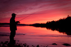 Fishing at night is always a good option on a bright moon, says Geoff Thomas.  Photo / Thinkstock