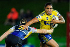 Willie Tonga of the Eels. Photo / Getty Images