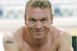 Sir Chris Hoy. Photo / Getty Images