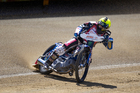 Current World Speedway champion Greg Hancock. Photo / Brett Phibbs