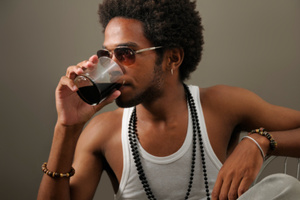 One believes that a drink will boost one's own attractiveness. Photo / Thinkstock