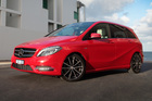 Mercedes-Benz B200. Photo / Supplied