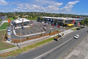 All nine retail units were sold at Merton East Convenience Centre.