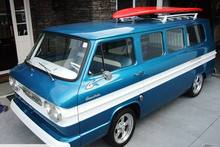 Green Day frontman Billie-Joe Armstrong's surf van is up for sale on Trade Me. Photo / supplied