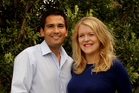 Simon Bridges, pictured with his wife, Natalie, has a ministerial post outside Cabinet.  Photo / Alan Gibson