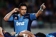 Piri Weepu of the Blues during the round five Super Rugby match between the Blues and the Hurricanes on March 23. Photo / Getty