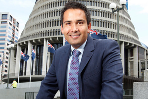 Tauranga MP Simon Bridges says he is a real Kiwi, a part-Maori who grew up in West Auckland.  Photo / Mark Mitchell
