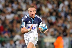 Blues player Gareth Anscombe. Photo / Getty Images
