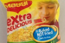 Maggi Extra Delicious Chicken Flavoured 2 minute noodles. Photo / Supplied