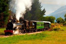 The Kingston Flyer has been travelling the rails since the 1890s. Photo / Southern PR