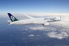 Air New Zealand Dreamliner Boeing 787-9. Photo / Supplied
