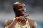 LaShawn Merritt. Photo / AP
