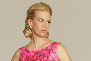 January Jones appears in character as Betty Francis. Photo / Supplied