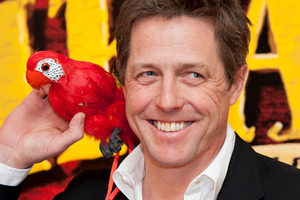 The English siliness of the Pirate role appealed to Hugh Grant. Photo / AP
