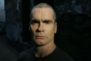Henry Rollins is now channelling his anger into charity work. Photo / Supplied