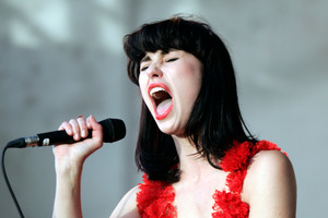 Kiwi pop sensation Kimbra will be covered on the hit television show 'Glee.' Photo / Michael Craig