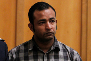 Diwesh Kumar Sharma who admitted murdering his wife by setting her on fire. Photo / Christine Cornege