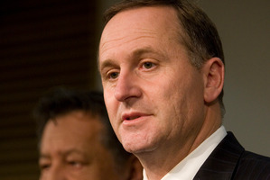John Key has been distancing himself from the affair. Photo / Mark Mitchell