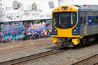 Graffiti vandalism along Auckland's rail corridor will be targeted 24/7 in a new service across the metro area. Photo / Richard Robinson