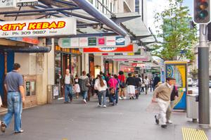 Tiny shops are making main street tacky, say city critics. Photo / Supplied