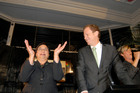 Green Party leaders Metiria Turei and Russel Norman on election night 2011. Photo / Michael Craig