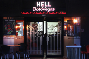 A Hell Pizza store in Rotorua. Photo / APN