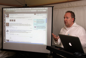 Rod Drury, founder and CEO of Xero. File Photo