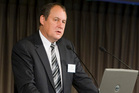 Former Hanover CEO, Peter Fredricson.  Photo / NZPA