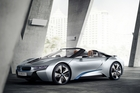 The electric motor and petrol engine can run independently or in tandem, propelling the Spyder to a top speed of 250km/h.