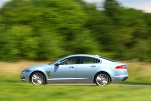 The Jaguar XF 3.0D S, at $115,000, represents fantastic value compared with the entry-level XF.  Photo / David Linklater