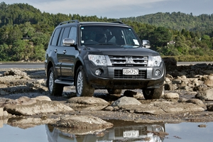 Mitsubishi Pajero Exceed 2012.   Photo / Phil Hanson