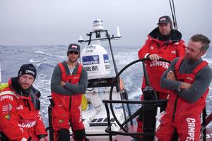 Onboard CAMPER with Emirates Team New Zealand. Photo / Hamish Hooper/CAMPER ETNZ/Volvo Ocean Race
