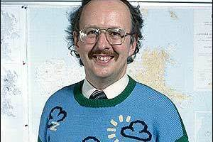 BBC weatherman Michael Fish. Photo / Supplied