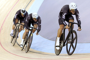 New Zealand men's sprinters Sam Webster and Eddie Dawkins. Photo / Gerry McManus