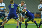 Jean de Villiers of the Stormers is tackled. Photo / Getty Images