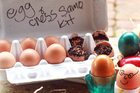 Eggs are synonymous with Easter. Photo / Doug Sherring