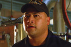 John Tui in a scene from Battleship. Photo / Supplied