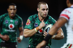 Simon Mannering of the Warriors. Photo / Getty Images